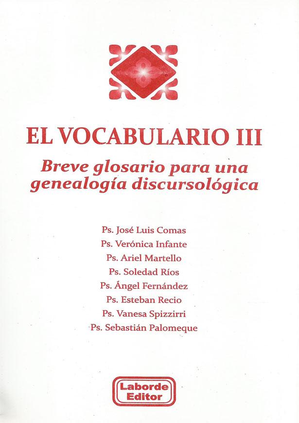 El Vocabulario III